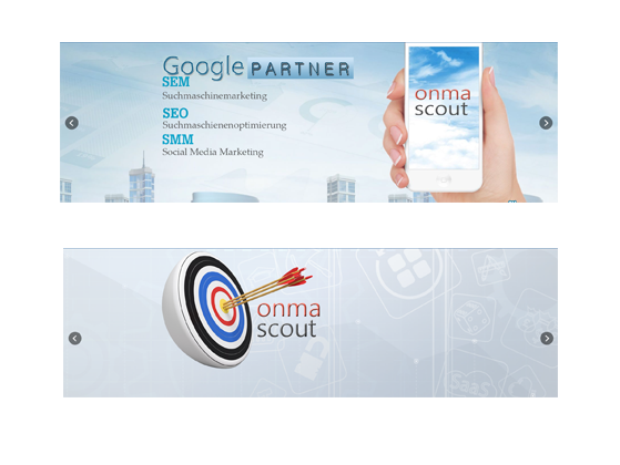 ONMA Scout Banner ads