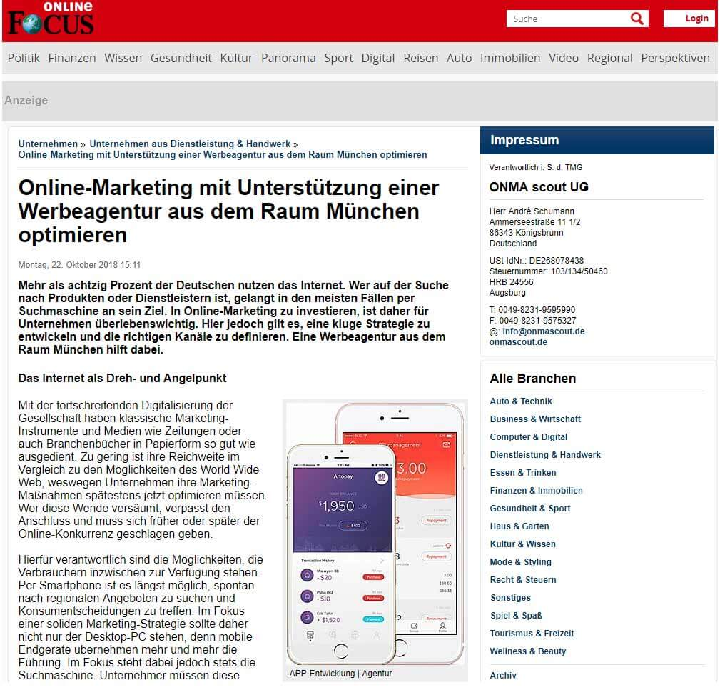 AdWords Agentur für Google Ads