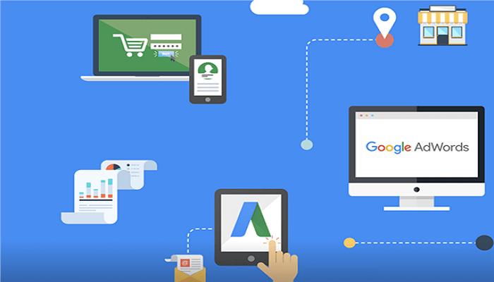 Google Adwords-Anzeigen