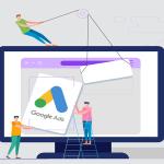 Google Adwords Ad für das Online-Geschäft