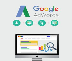 Google AdWords-Anzeige